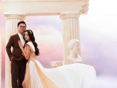 Trước thềm đám cưới, Á hậu Thuý An lần đầu công khai dung mạo chú rể hơn 12 tuổi