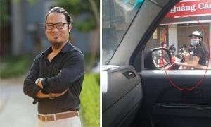 NS Vượng Râu đăng ảnh bà mẹ vạch áo cho con bú lúc chạy xe máy: 'Khiếp kinh khủng'