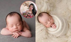 Phạm Hương hiếm hoi khoe cận mặt nhóc tỳ thứ 2, khoảnh khắc bé Apollo ngủ cực đáng yêu