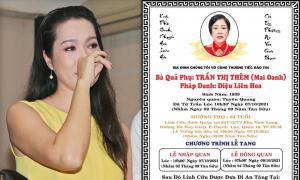 Mẹ diễn viên Trịnh Kim Chi qua đời, loạt sao Việt chia buồn