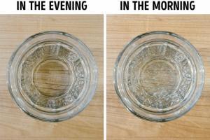 Tại sao bạn nên tránh để một ly nước gần giường?