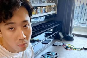 Trấn Thành khoe dụng cụ tập gym xịn xò tại xa cùng quyết tâm giảm béo, NS Nguyễn Hồng Thuận réo Hari Won nghi ngờ