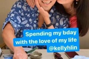 Đi dự tiệc cùng chồng, Lâm Tâm Như bị chê hói đầu, keo kiệt khi tặng quà sinh nhật
