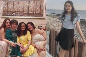 Dung mạo nổi bật của cháu gái Phạm Quỳnh Anh, 17 tuổi đã sở hữu chiều cao 'khủng' 1m79