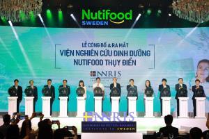 Nutifood - Công ty sữa duy nhất Việt Nam đầu tư viện nghiên cứu dinh dưỡng ở Thuỵ Điển