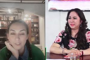 Phi Nhung livestream khẳng định thương bà Phương Hằng, hát loạt ca khúc hit tặng nữ đại gia